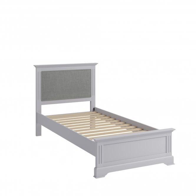 Finley Single (3'0'') Low End Bed, Moonlight Grey