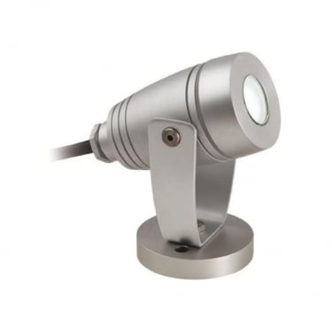 Firstlight Aluminium 1Lt Wall & Spike Light with 3w White LED (6403AL)
