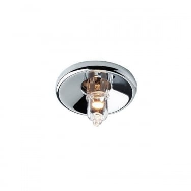 Firstlight Chrome 1Lt Mini Halo Recessed Light (LV1350CH)