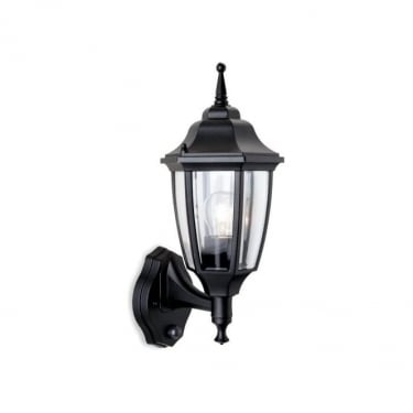 Firstlight Faro Black Lantern Uplight with PIR