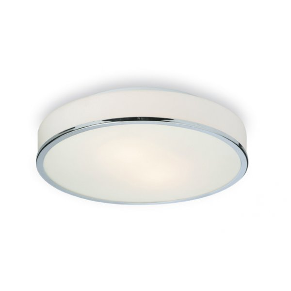Firstlight profile chrome 2lt bathroom flush ceiling light 5756ch
