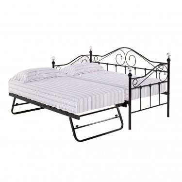 Florence Single Day Bed, Black