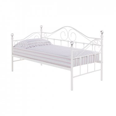Florence Single Day Bed, White
