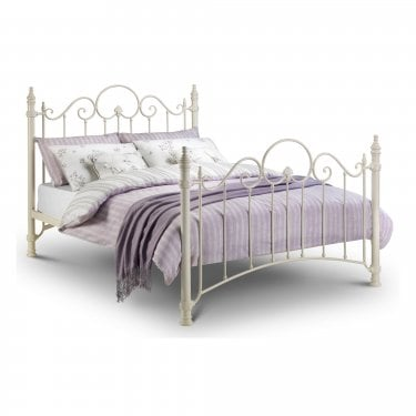 Florence Stone White Single Bed