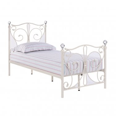 Florence White 3'0 Bed