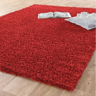 Forever Rugs Sunshine 70071-010 Red Shaggy Rug