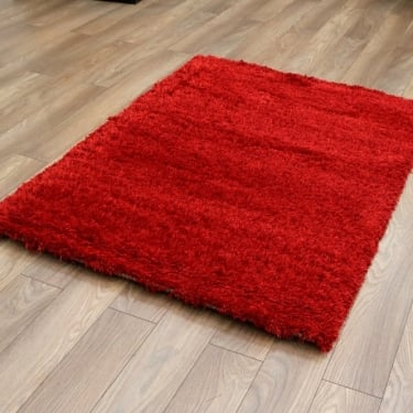 Forever Rugs Sunshine Soft 57201-010 Red Shaggy Rug