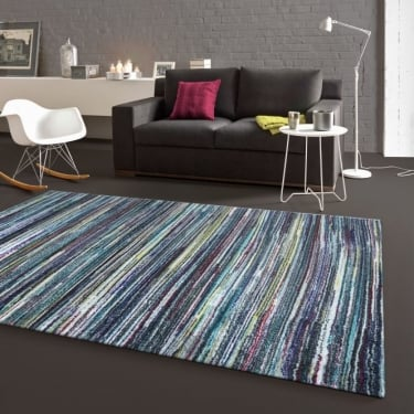 Forever Rugs Zoom 25105-653 Blue Rug
