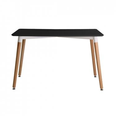 Fraser Dining Table, Black
