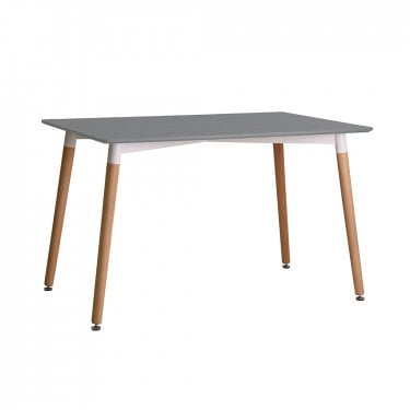Fraser Dining Table, Grey