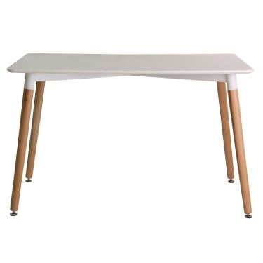 Fraser White Dining Table