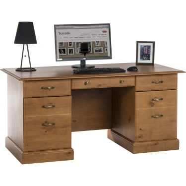 Teknik French Gardens Pine Study Desk (10418)