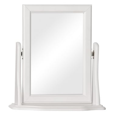 Furniture To Go Copenhagen White Painted Mirror (1014101)