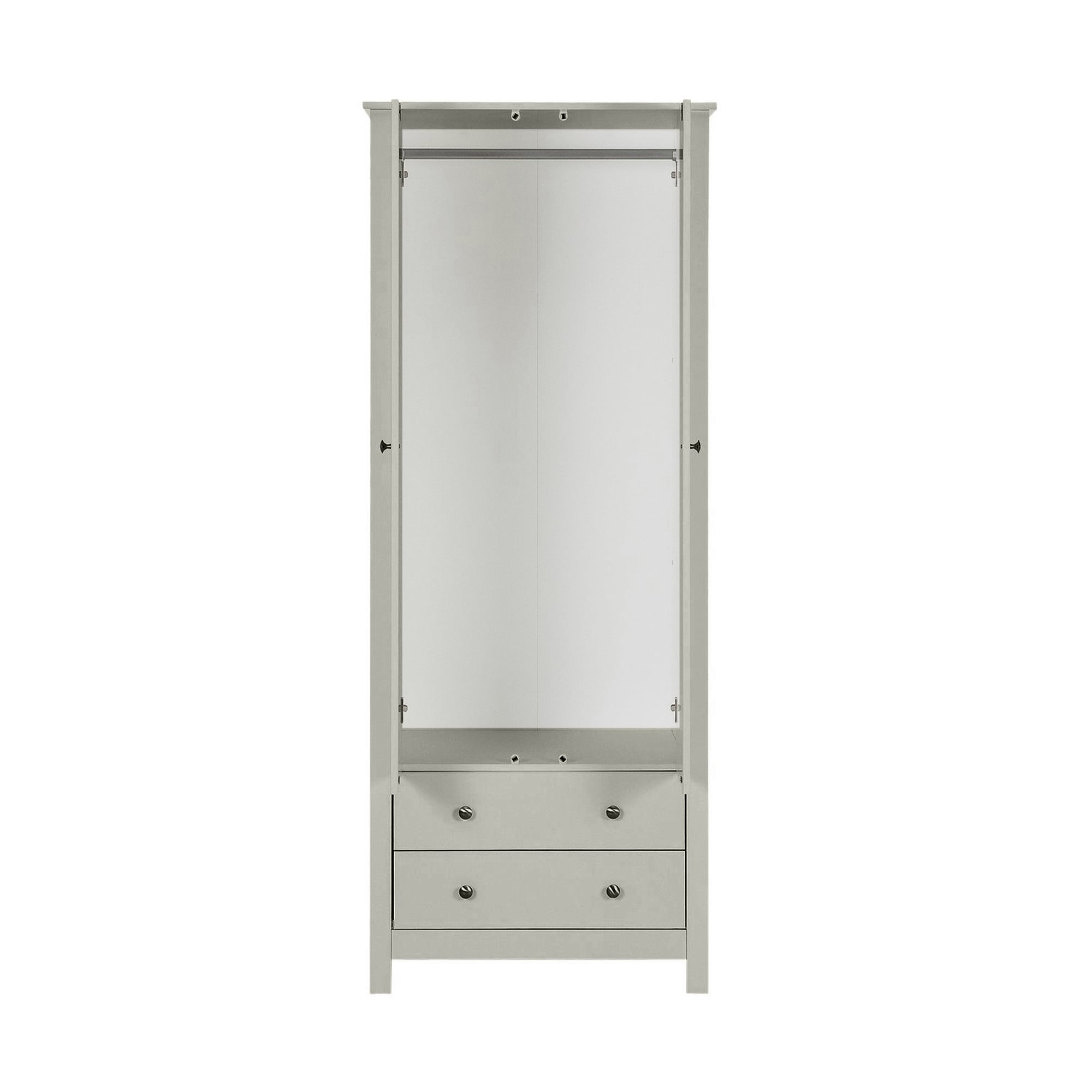 wardrobe product soft montreux oak washed grey double
