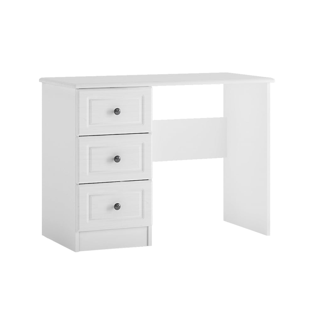 Hampshire White 3 Drawer Dressing Table