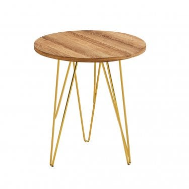 Fusion Lamp Table, Beech Effect