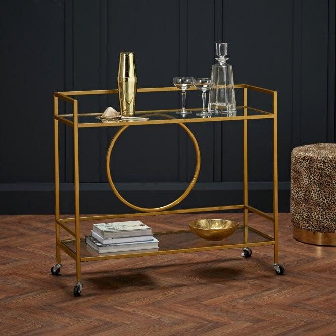 Gatsby Drinks Trolley, Gold