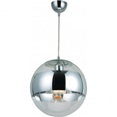 Globo Lighting Galactica Chrome Pendant Light