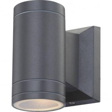 Globo Lighting Gantar Aluminium Grey LED Wall Light