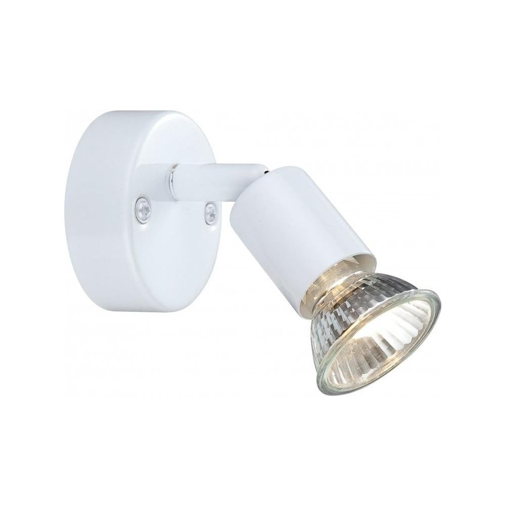 Globo 57381 1 Olana White Single Wall Light At Leader Stores