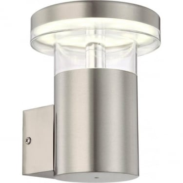 Globo Lighting Sergio Stainless Steel LED Wall Light