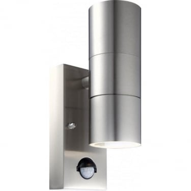 Globo Lighting Style Stainless Steel Wall Light With Sensor