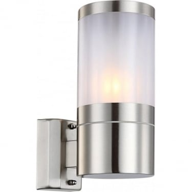 Globo Lighting Xeloo Stainless Steel Single Wall Light