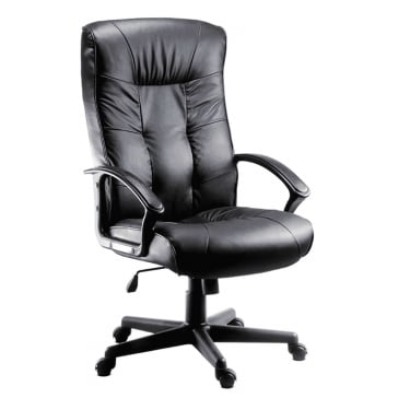 Gloucester Black Executive Chair with Nylon Base