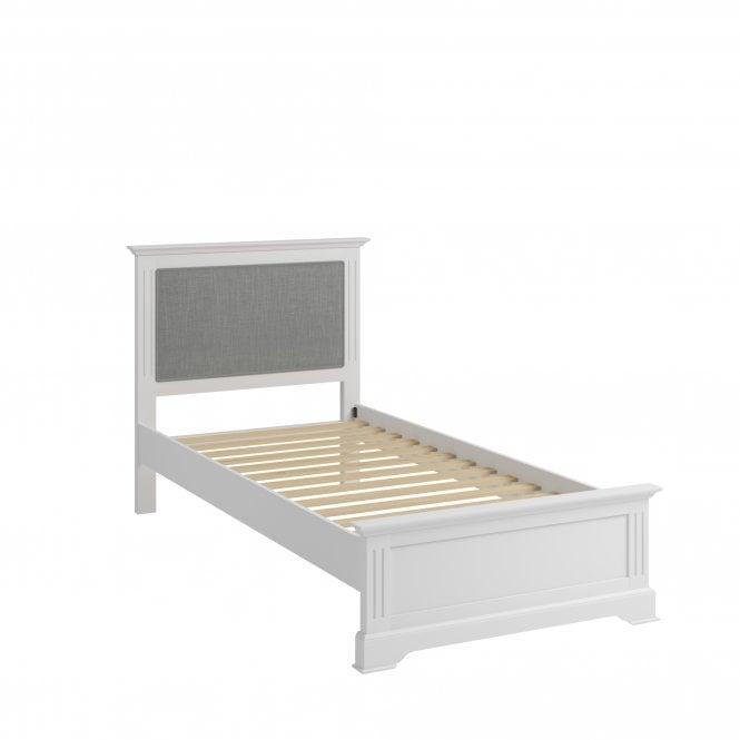 Hamilton Single (3'0'') Low End Bed, Classic White
