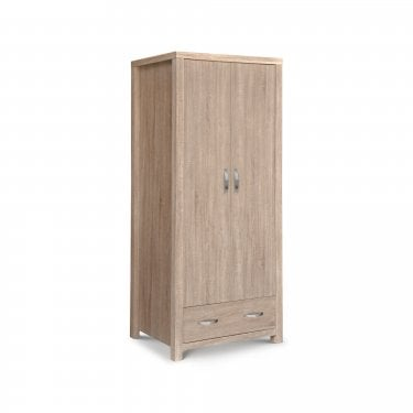 Hamilton Sonoma Oak 2 Door Combination Wardrobe