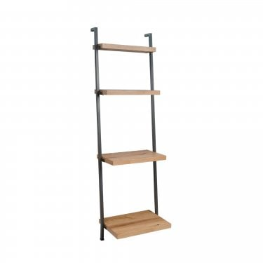 Hannigan Tall Bookcase, Oak