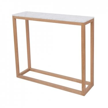 Harlow Console Table, White