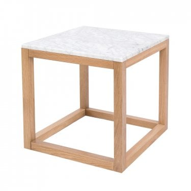Harlow End Table, White