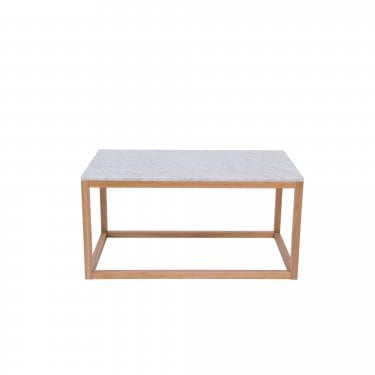 Harlow Oak & White Coffee Table