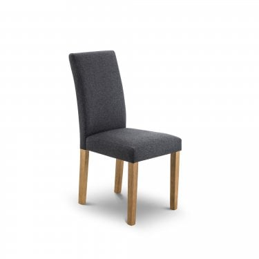 Hastings Slate Linen Chair