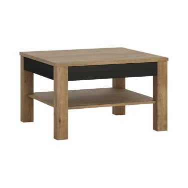 Havana Matte Black & Lefkas Oak Coffee Table
