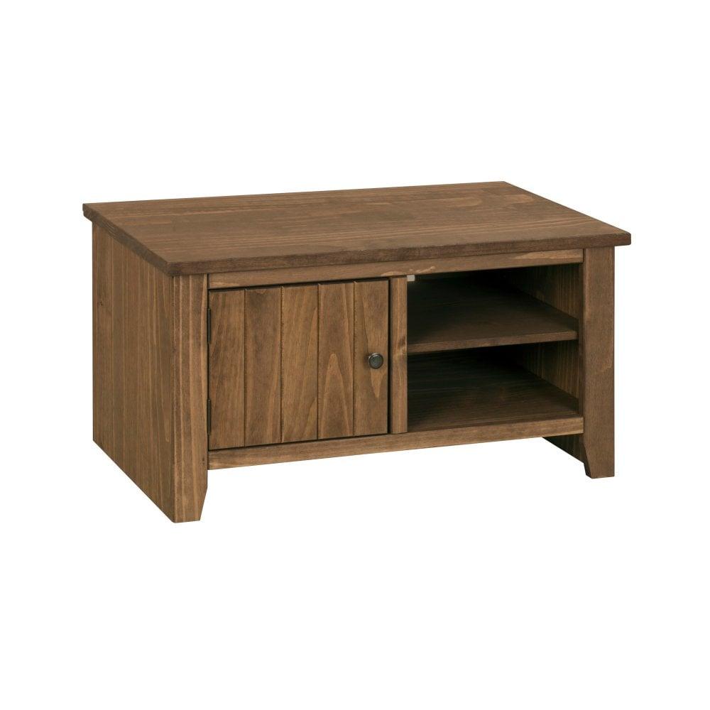 Lpd furniture havana rustic pine tv unit