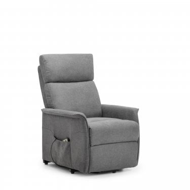 Helena Charcoal Velvet Recliner Chair