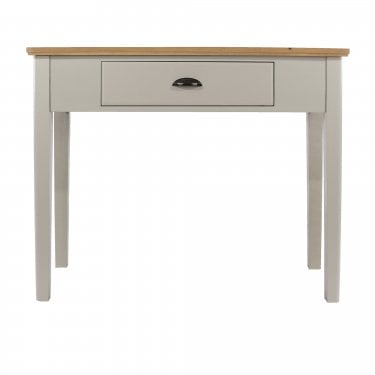 Highland Home BB Assembled Oak & Grey Painted Console Table