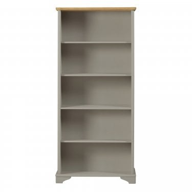 Highland Home BD Assembled Oak & Grey Painted Bookcase