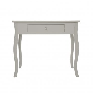 Highland Home JB Assembled Curved Grey Painted Grey Console Table
