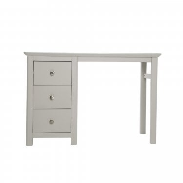 Highland Home LB Assembled Grey Painted 3 Drawer Dressing Table