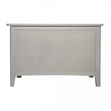 Highland Home LB Assembled Grey Painted Storage Trunk