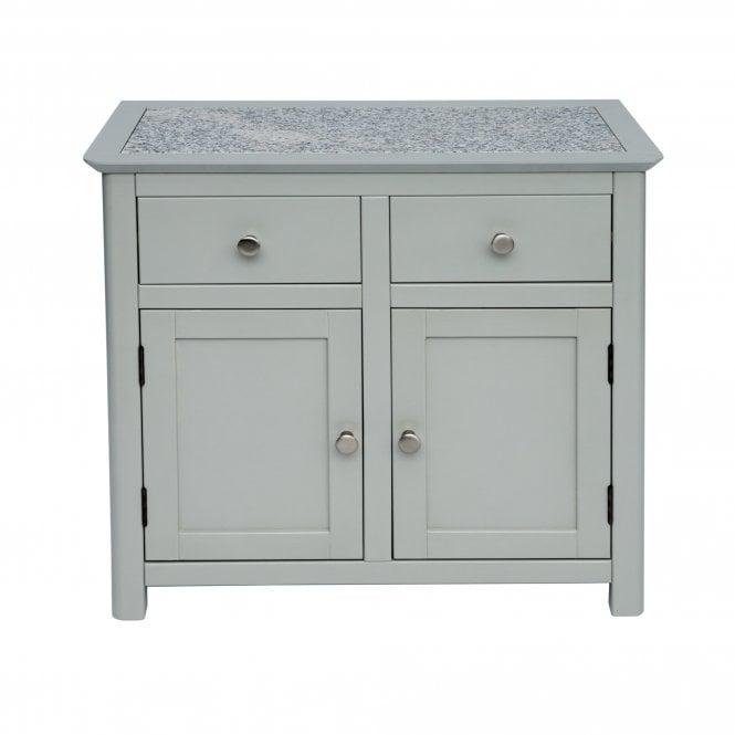 Highland Perth 2 Door 2 Drawer Sideboard, Dark Stone Grey