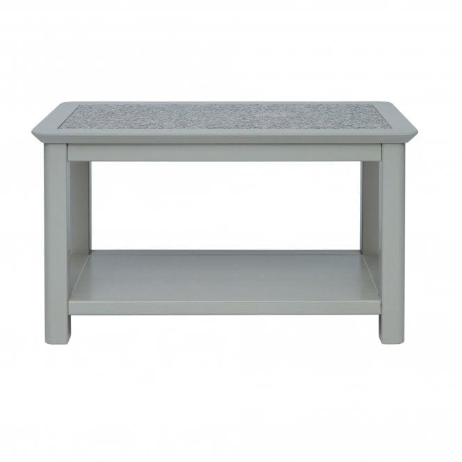 Highland Perth Rectangular Coffee Table, Dark Stone Grey