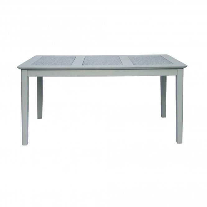 Highland Perth Rectangular Large Dining Table, Dark Stone Grey