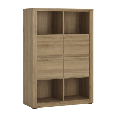 Hobby Oak 4 Drawer Storage Unit