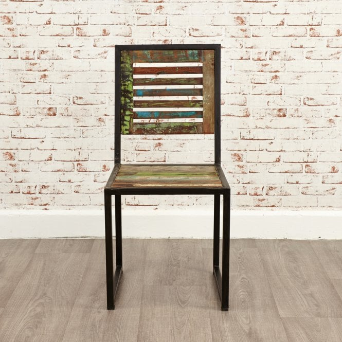 Hoffman Dining Chair Set Of 2, Reclaimed Wood