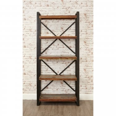 Hoffman Large Bookcase, Reclaimed Wood