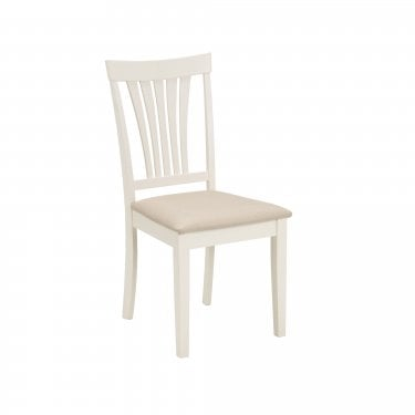 Holland Dining Chair Set Of 2, Ivory